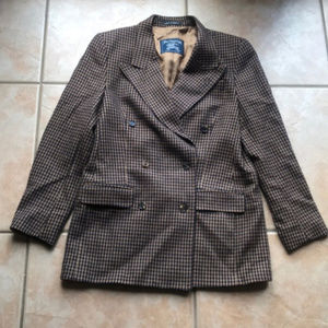 Authentic Vintage Burberry Cashmere Jacket Size 8